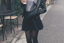 czarne spódniczki