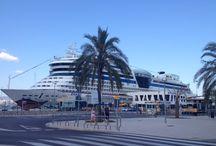 Cruises at Palma de Mallorca, Spain