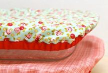kitchen covers and bowls.