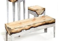 wooden resin alumunium