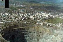 Mining & Extraction / Ecological Damage caused by mining and extraction.
