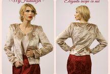 Sacouri dama/Women jackets / Sacouri elegante dama/Elegant women jackets