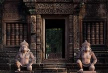 Cambodia Day 1 / Moodboard for the 2014 trip to Angkor Wat / Day 1