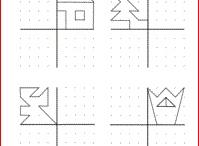 symmetria ja pisteikkötehtävät