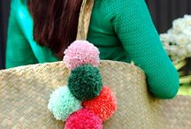 Pom Poms and stuff!