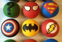 Superhero Cake & Party Ideas