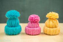 Bonnet laine Noël