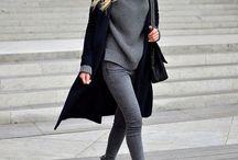 Style  femme- Gris