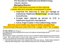 How to Transform a Resume - Part 3 / Original resume Latest Position section only, with comments.