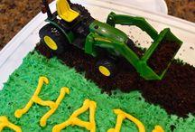 Farm/Tractor themed birthday