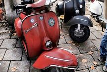 Vespa & others motor cycle