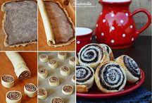 Ételek édességek