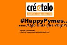 HappyPymes / En Créetelo cada día estamos más felices...¿Cúal es el secreto? Nos rodeamos de empresas que quieren ser felices y les enseñamos a serlo. ¿Quieres ser HappyPyme ?