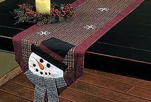navidad caminos de mesa