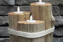 vyrábění dřevo