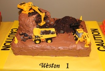 Birthday / Cakes I have done for my Grand-kid's birthdays