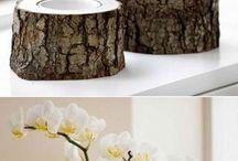 arte com tronco
