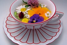 Cup & Saucer Collection / The Pinterest version of my real collection.