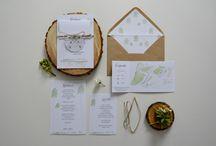 """""""Młodnik"""" - zaproszenia / kolekcja 2015 by minwedding ~~~ motyw przewodni: las, eko, natura, akwarele, camp wedding ~~~ kolory przewodnie: kolory natury ~~~ projekt, wykonanie, zdjęcia: minwedding more on: http://minwedding.pl/blog/?p=2294 ~~~ zaproszenia zaproszenia ślubne wedding invitations"""