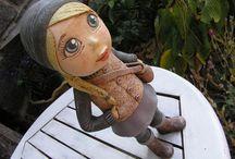 keramické panenky