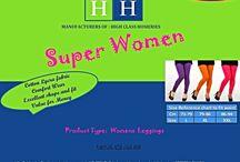 HH-Superwomen / Women's Cotton Lycra Leggings