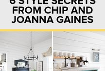 Decorating / Joanna Gaines style