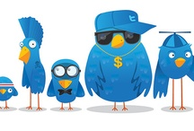 Social media / Twitter, Facebook, Viadeo, Linkedin, Pinterest and more...