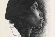 Elizabeth Catlett (1915-2012, Afro-American)