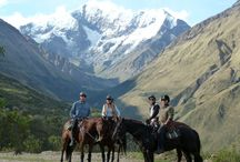 Horse around in South America / South America has something for everyone, even horse lovers and those willing to discover beautiful and scenic locations a bit differently by horse travel. Here is a list of the top 5 horse experiences in South America.