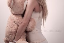 she loves teddy / gorgeous ladies who love thier teddy's.  no full nudity please. keep it clean