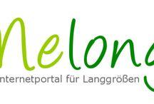 Langes / Lange Themen für große Menschen - willkommen bei Melongia - dem Internetportal für Langgrößen.