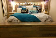 My Rustic King Pallet Bed