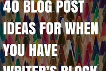 Writing Prompts / What to write about when your mind is totally blank. (It happens to everybody!)