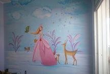 τοιχογραφια ζωγραφισμενη από Αδαμαντια Ξένου!!!