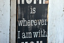 Home is where the heart is <3 / ideas for a chilled vibe home