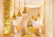 morning wedding decor