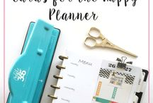 Bullet Journal and Planner Spreads / Happy Planner inspiration and accessories.