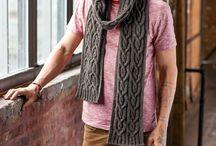 Mens scarves & hats