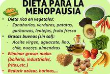 dietas menopausia