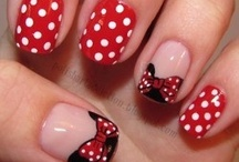 Disney Beauty Ideas / Disney themed ideas for Hair, Nails, and Make-up