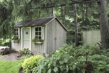 Cabanes de bois