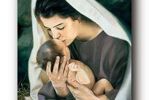 Panna Maria s Ježíškem.