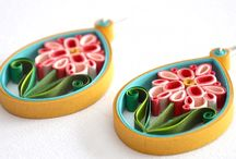 Quilled jewellery