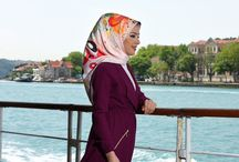 İstanbul and Bosphorous with Beril Scarf / Beautiful views from Bosphorous and Istanbul and reflection of this beauty to scarf and foulard. Istanbul views accompanies the new collection of Beril Scarf .