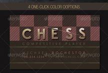 визитка для шахматиста