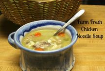 Soups / Healthy soups to warm the body.