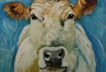 Dier verf koe