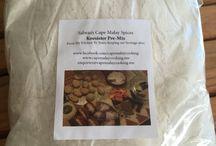Salwaa's Cape Malay Spices & Pre-Mixes