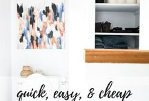 Bloggers' Best DIY & Home Decor / Inspiring DIY, home decor, and craft projects from your favorite bloggers! Great ideas, budget-friendly tutorials, and gorgeous home projects.