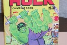 Vintage Coloring, Activity & Sticker Books